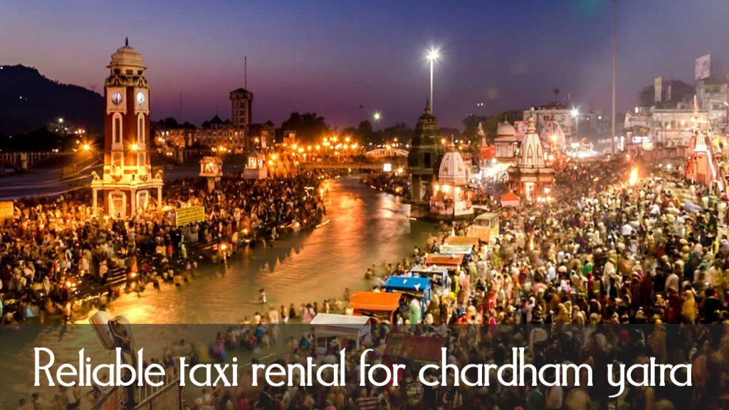 Reliable taxi rental for chardham yatra